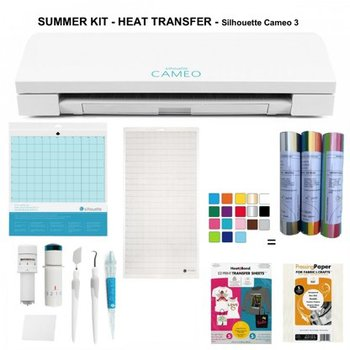 Summer Kit - Heat Transfer - Cameo 3 SILHOUETTE