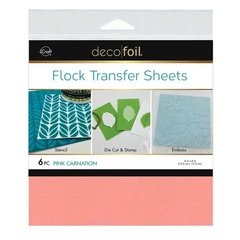 Flock Transfer Sheets