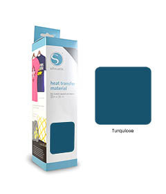 Turquoise - Flex Transferfolie SILHOUETTE