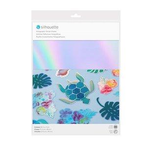 Printbaar Holografisch Stickerpapier SILHOUETTE