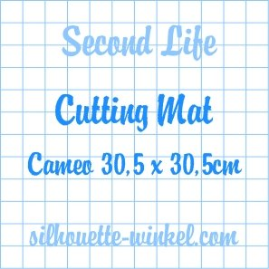Second Life - Snijmat kleefvellen Cameo 30,5cm (2x)