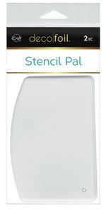 Deco Foil Stencil Schraper