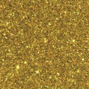 Gold - Glitter Flex Transferfolie