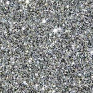 Silver - Glitter Flex Transferfolie