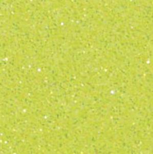 Neon Yellow - Glitter Flex Transferfolie