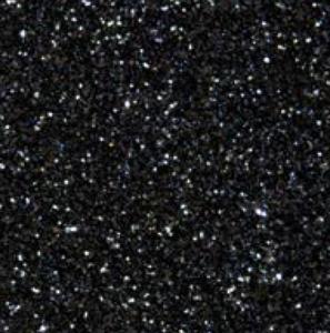 Black - Glitter Flex Transferfolie