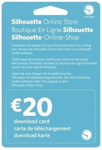 20€ Download Kaart SILHOUETTE