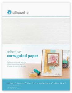 Zelfklevend Golvend Papier SILHOUETTE
