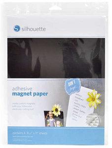 Zelfklevend Magnetisch Papier SILHOUETTE