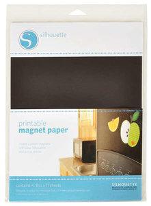 Printbaar Magnetisch Papier SILHOUETTE