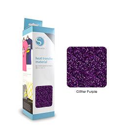 Paars - Glitter Transferfolie SILHOUETTE