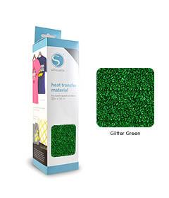 Groen - Glitter Transferfolie SILHOUETTE
