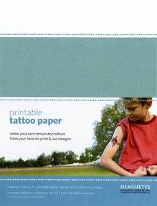 Printbaar Tattoo Papier Clear SILHOUETTE