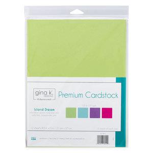 Island Dream Premium Cardstock - Gina K. Designs