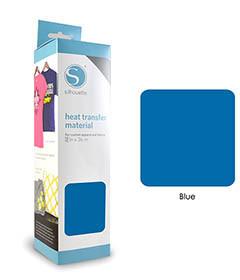 Blauw - Flex Transferfolie SILHOUETTE