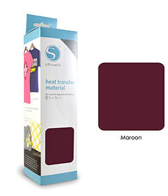 Maroon - Flex Transferfolie SILHOUETTE