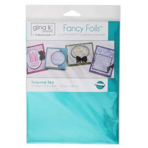 Turquoise Sea - Gina K. Designs Fancy Foils
