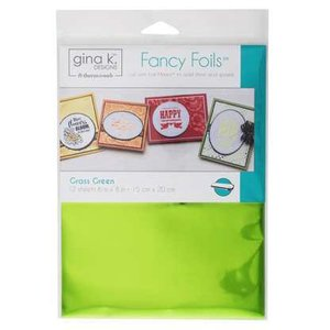 Grass Green - Gina K. Designs Fancy Foils