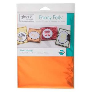 Sweet Mango - Gina K. Designs Fancy Foils