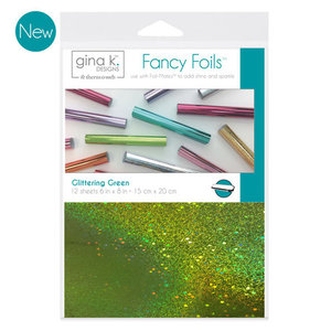 Glittering Green - Gina K. Designs Fancy Foils