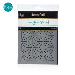 Starburst Stencil - iCraft Deco Foil