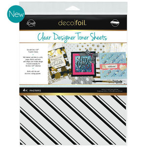 Pinstripes * Clear Toner Sheets - iCraft Deco Foil