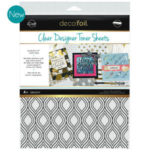 Groovy * Clear Toner Sheets - iCraft Deco Foil