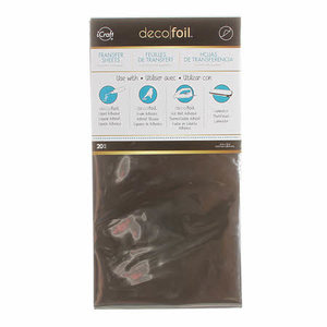 Silver - iCraft Deco Foil (20x)