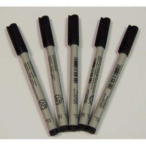 Viltstiften (5x) Zwart