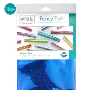 Brilliant Blue - Gina K. Designs Fancy Foils