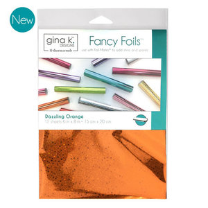 Dazzling Orange - Gina K. Designs Fancy Foils