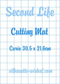 Second Life - Snijmat kleefvellen Curio 30,5cm (2x)