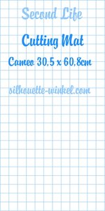Second Life - Snijmat kleefvellen Cameo 60,8cm (2x)