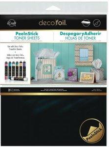 Peel N Stick Toner Sheets - iCraft Deco Foil