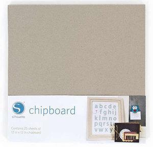 Grijs Karton/Chipboard SILHOUETTE
