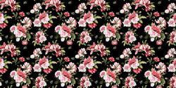 Dark Floral - Deco Vinyl - DCWV