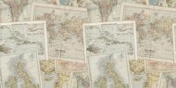 Maps - Deco Vinyl - DCWV