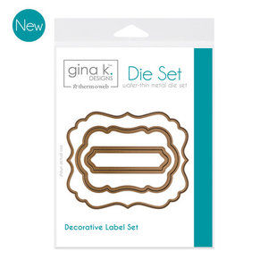 Gina K. Designs (3) Nested Label Dies