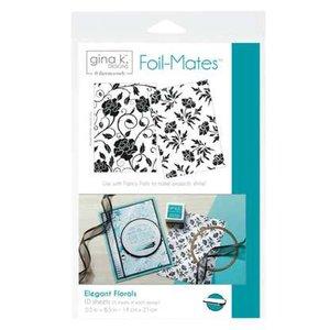 Elegant Florals - Gina K. Designs Foil-Mates Backgrounds