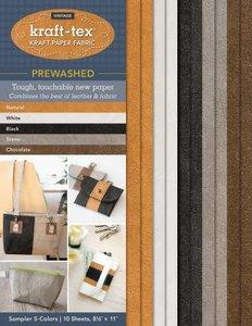Kraft-Tex Lederpapier 5 Kleuren