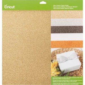 Glitter Cardstock - Basis kleuren