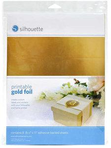 Gouden Stickervellen SILHOUETTE