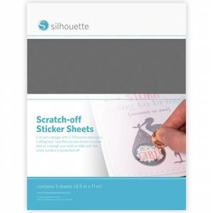 Scratch-off Zilver SILHOUETTE