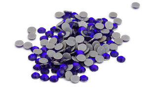 Blauw Rhinestones SILHOUETTE