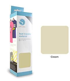 Crème - Flex Transferfolie SILHOUETTE