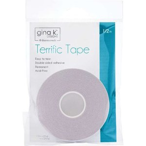 Terrific Tape 1/2in - Gina K Designs