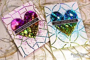 Rainbow Shattered Glass - iCraft Deco Foil