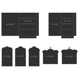 Pocket and Flipfold Inserts F - Black