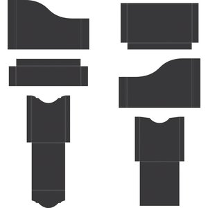 Pocket and Flipfold Inserts A - Black