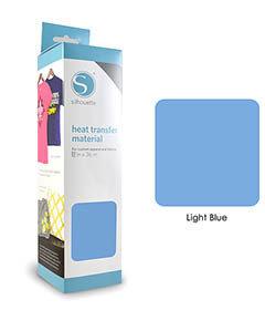 Licht Blauw - Flex Transferfolie SILHOUETTE
